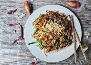 Vegan Thai Dish